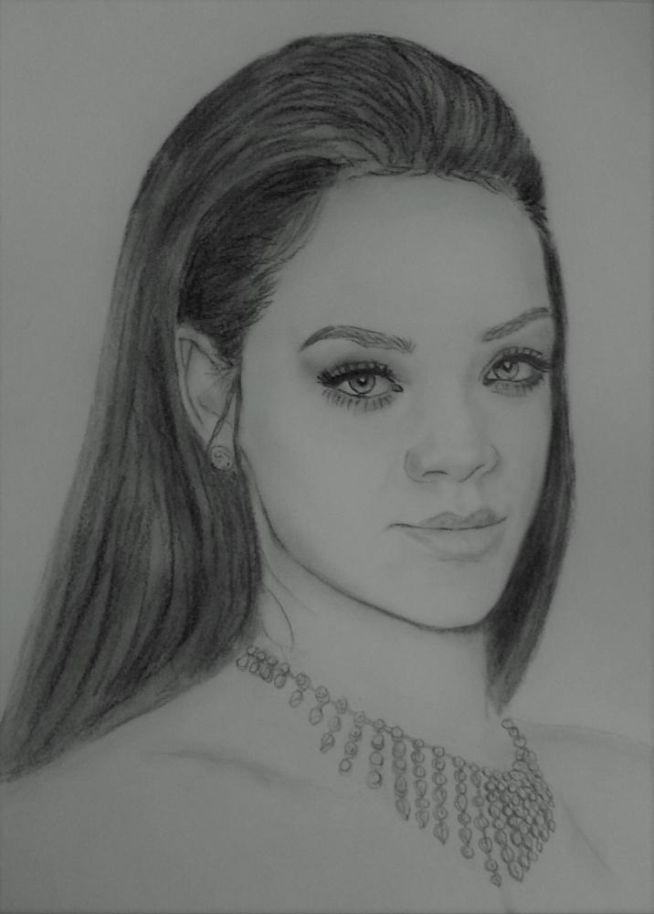 Rihanna por tmac1965